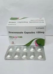 Etrazip Itraconazole Capsules 100 mg For Franchise