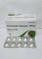 Etrazip Itraconazole Capsules 100 mg