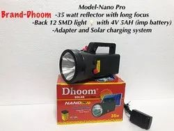 Model-Dhoom Nano Pro Rechargeable Torch