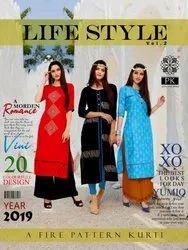 PK Lifestyle Vol 2 New Kurti with Palazzo Pant