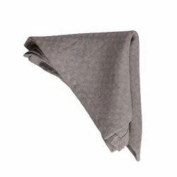 Plain Dyed Fabric Dark Grey Kaushal Pure Kitchen Linen Napkins Table Linen