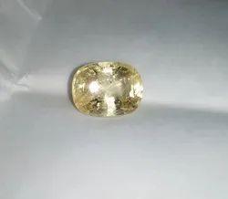 Natural Mineral Natural Yellow Gemstone, Carat: 10