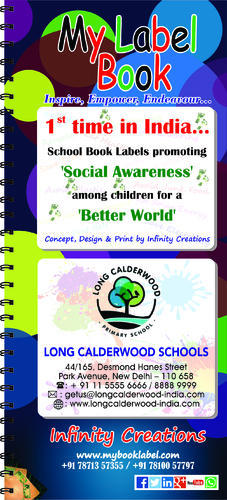 My Label Book & My Label Children Book Manufacturer from Chennai
