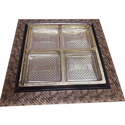 4 Partition Dry Fruit Tray