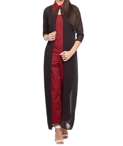 2019 best sell good looking great discount for Ladies Designer Jumpsuit With Long Shrug