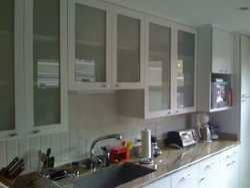 Stainless Steel L Shape German Modular Kitchen Designing Service, Warranty: 1-5 Years