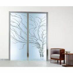 Decorative Sliding Door