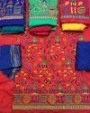 Unstitched Kutch Bandhani Dress Material