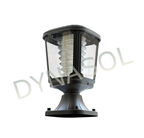 100 Lumens Fully Automatic All In One Led Solar Garden Post Light
