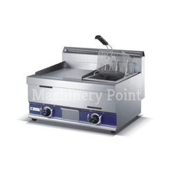 1-Tank 1-Basket Gas Fryer(18 L)