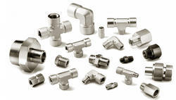 Hastelloy C276 Compression Tube Fittings, Structure Pipe And Chemical Fertilizer Pipe