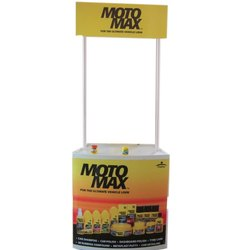 Pvc Moto Max Promoter Table, For Usage In Promotion