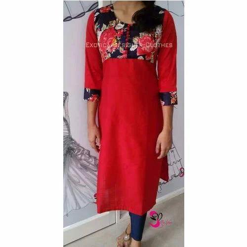 7de83e3f40ca Exotica Cotton Ladies Fancy Suit