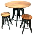 Rd Export Cast Iron Coffee Table With Stools For Hotel