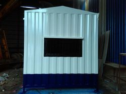 Color Coated Portable Cabins