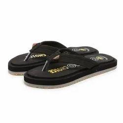 Unistar Mens Black Casual EVA Slippers