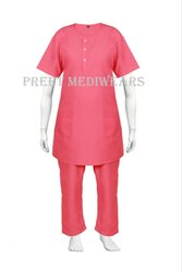 Round Neck Scrub Suit