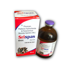 Piroxicam, Pitofenone Hydrochloride And Fenpiverinium Bromide Injection (Vet)