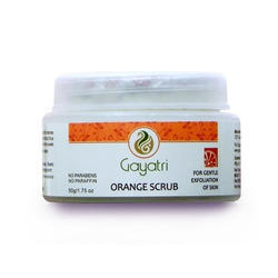 Orange Body Scrub, Packaging Size: 50 G,75 G & 200 G, for Personal,Parlour