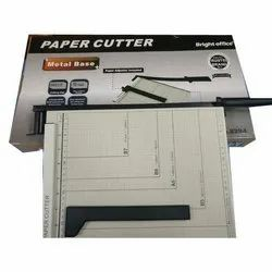 Mild Steel Brightoffice A4 Manual Paper Cutter, Cutting Capacity: 10-12 Sheet