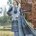 Printer Designer Cotton Dress Material