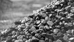 Black 6400 GCV Indonesian Coal, Shape: Lump