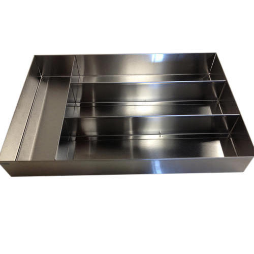 Stainless Steel Cutlery Tray Size 13