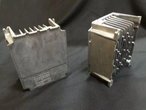 Polished Aluminium HPDC Heat Sink For Electrical Servo Drive