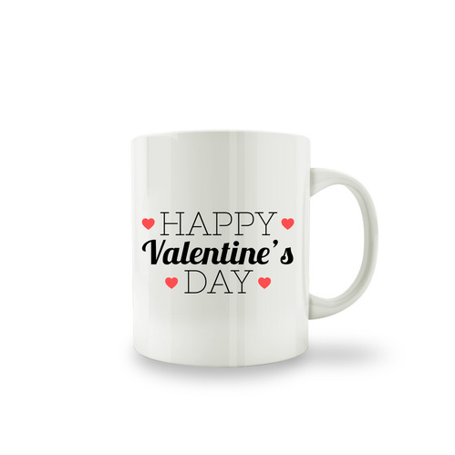 Valentine S Day Multi Color Valentine S Day Coffee Mug Rs 95 Piece