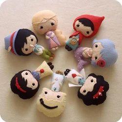 Cotton Seven Felt Doll