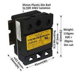 25 AMP ANALOG PHASE ANGLE CONTROL SSR