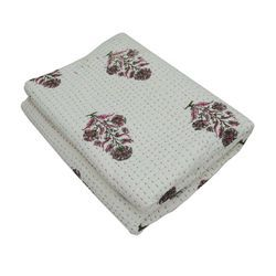 Hand Block Print Designer Cotton Quilt