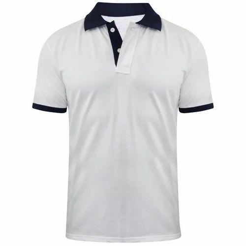 fc510e32d1bc Men's Cotton Half Sleeve Plain T-Shirt, Size: S-XXL, Rs 200 /piece ...