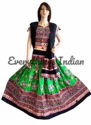 Traditional Embroidered Chaniya Choli