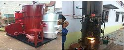 Vertical Oil Fired Steamgen Series II, Automation Grade: Automatic, Warranty: 12 Months