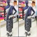 Formal Wear Printed Ikkat Macscrised Sarees, Without Blouse, 5.5 M (separate Blouse Piece)