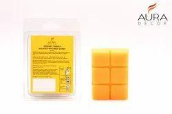 AuraDecor Vanila Scented Wax Melt Cubes