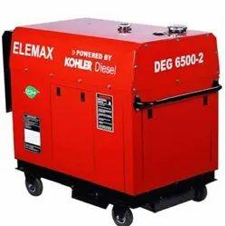 DEG6500-2 KOHLER 5Kva Diesel Generator Elemax