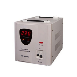 Single Phase White Automatic Voltage Stabilizer