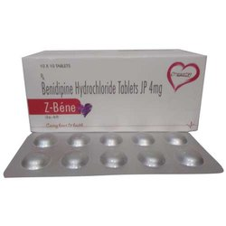 Benidipine Hydrochloride Tablets IP