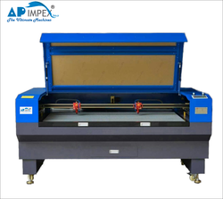 AP-1812  Camera On Head Fabric Laser Cutting Machine