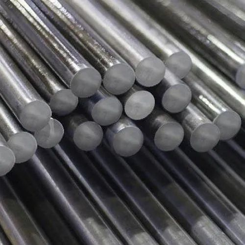 Stainless Steel Black Round Bar, for Construction, Single Piece Length: 3 meter