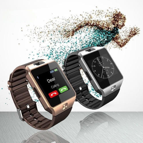 92350d6fe78a Unisex and Men Black Link Bluetooth DZ09 Smart Watch Wrist Watch Phone