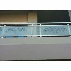 Designer Balcony Glass Railing