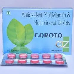 Antioxidant, Multivitamin & Multimineral Tablets