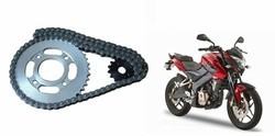 RK Bajaj Bike Chain Set Assembly
