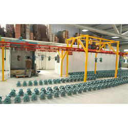 Conveyor Type Powder Coating Plant