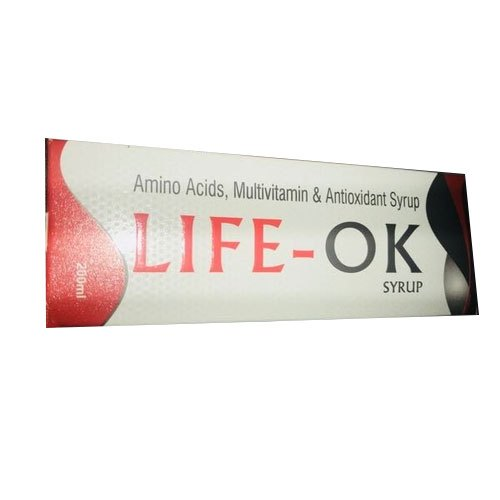 Amino Acids Multivitamin and Antioxidant Syrup