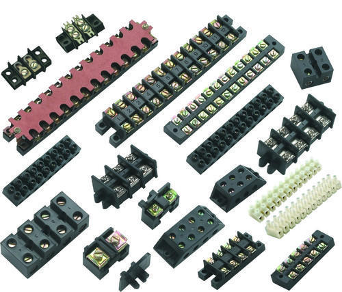 12 Way Connector Strip 30 Amp Block Terminal Connection x 10 Strips.