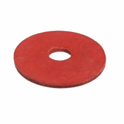 Red Fiber Washer